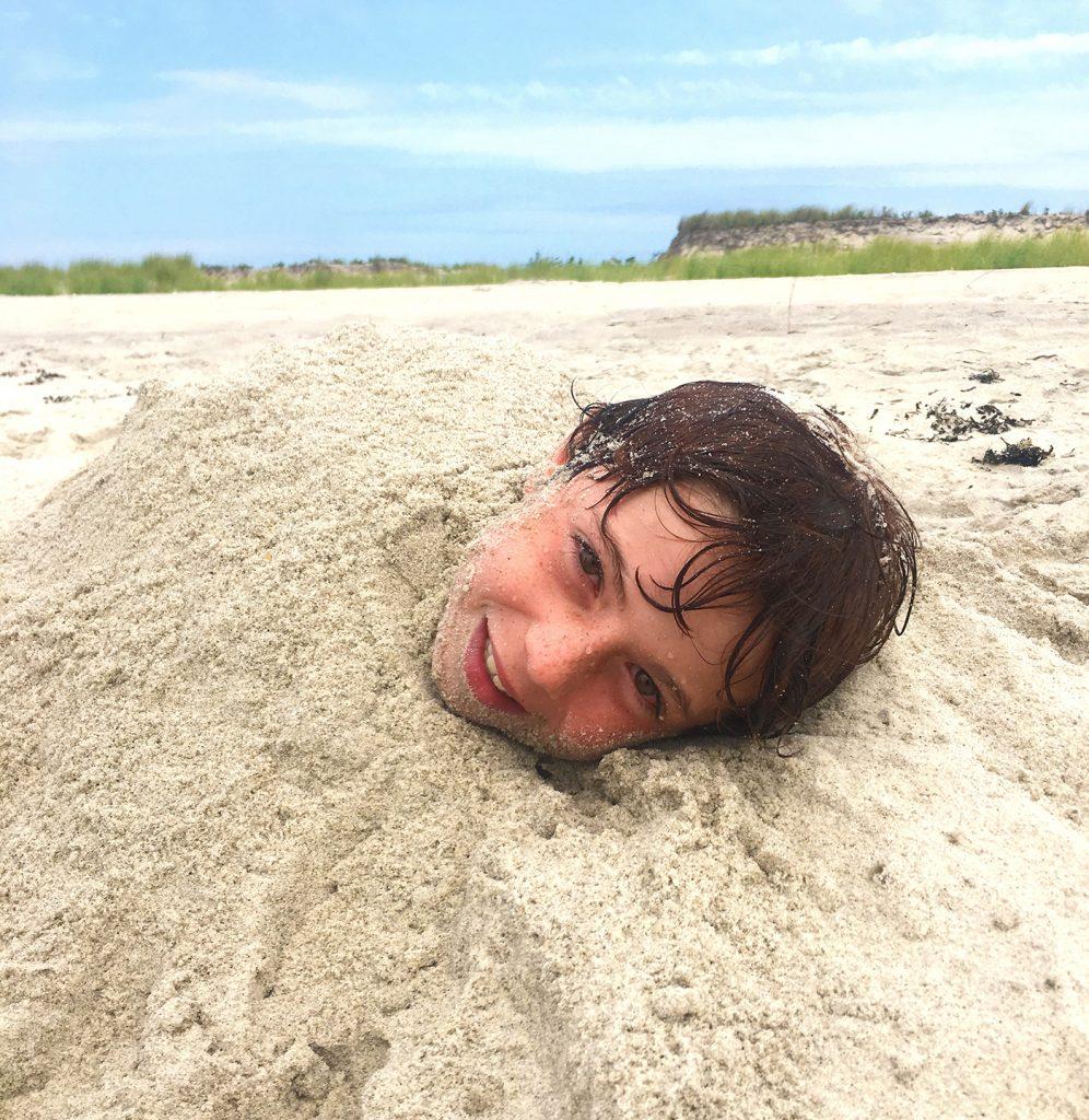 Sand monster found